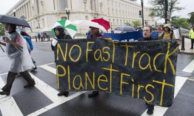 TPP protest